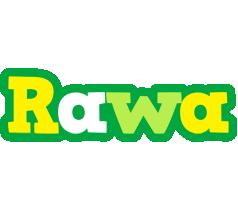 Rawa soccer logo