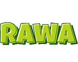 Rawa summer logo