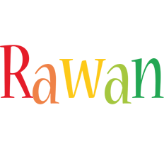 Rawan birthday logo
