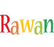 Rawan birthday logo