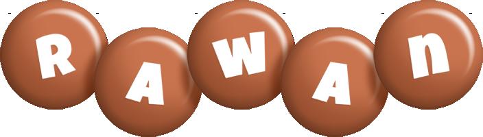 Rawan candy-brown logo