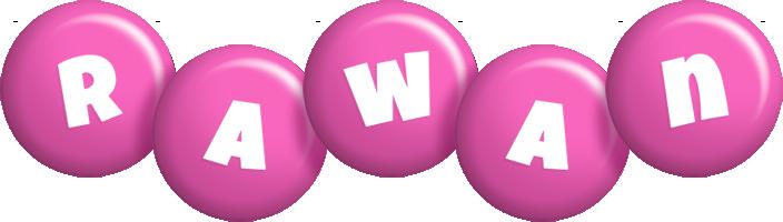 Rawan candy-pink logo