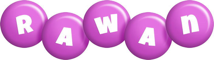 Rawan candy-purple logo