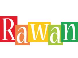 Rawan colors logo
