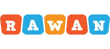 Rawan comics logo