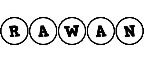 Rawan handy logo