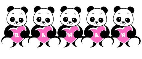 Rawan love-panda logo