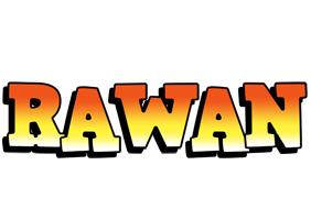 Rawan sunset logo
