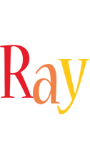 Ray birthday logo