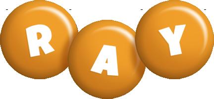 Ray candy-orange logo