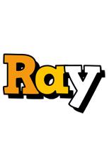 Ray cartoon logo