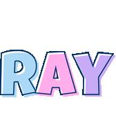 Ray pastel logo