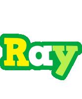 Ray soccer logo