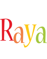 Raya birthday logo