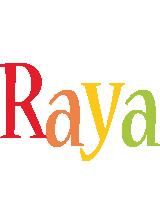 Raya birthday logo