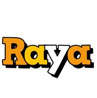 Raya cartoon logo