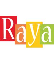 Raya colors logo