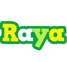 Raya soccer logo
