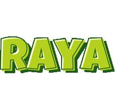 Raya summer logo