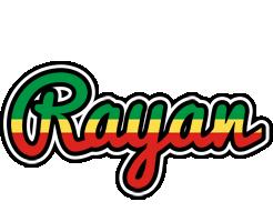 Rayan african logo