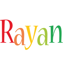 Rayan birthday logo