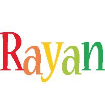 Rayan birthday logo