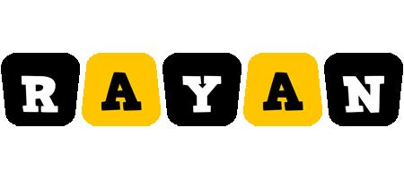 Rayan boots logo