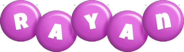 Rayan candy-purple logo