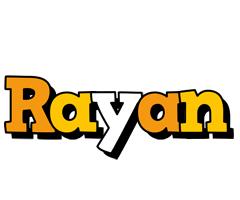 Rayan cartoon logo