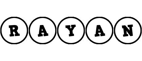 Rayan handy logo