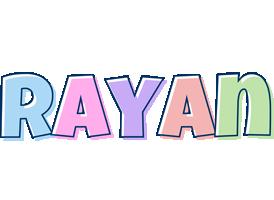 Rayan pastel logo