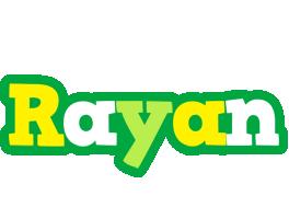 Rayan soccer logo