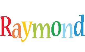 Raymond birthday logo