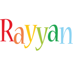 Rayyan birthday logo