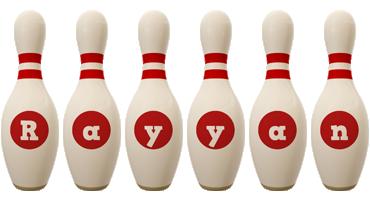 Rayyan bowling-pin logo