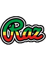 Raz african logo