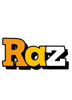 Raz cartoon logo