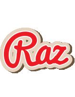Raz chocolate logo