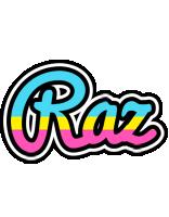 Raz circus logo