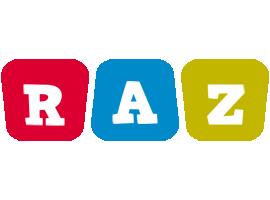 Raz daycare logo