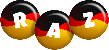 Raz german logo