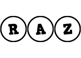 Raz handy logo