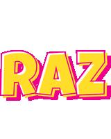 Raz kaboom logo
