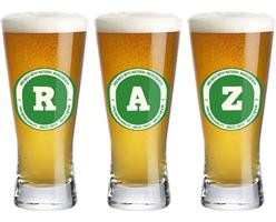 Raz lager logo