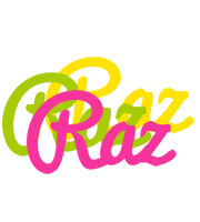 Raz sweets logo
