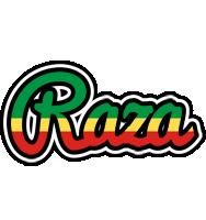 Raza african logo