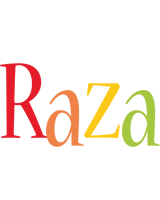 Raza birthday logo