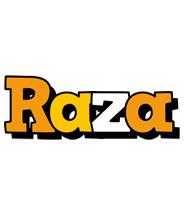Raza cartoon logo