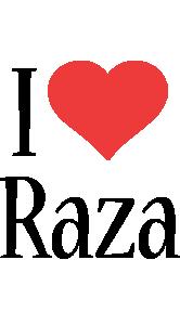 Raza i-love logo