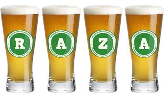 Raza lager logo